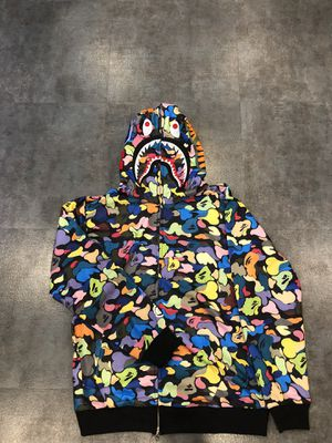 Multi color bape hoodie XL L M for Sale in Glendale, CA