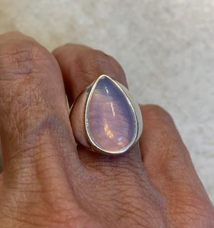 New moonstone sterling silver ring size 8 for Sale in Hoffman Estates, IL