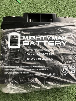 MightyMax 12v 18amp Batteries (2) for Sale in Orlando,  FL