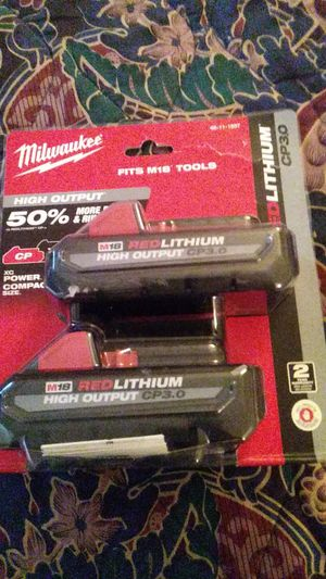 Milwaukee 3ah Batteries for Sale in Arvada, CO