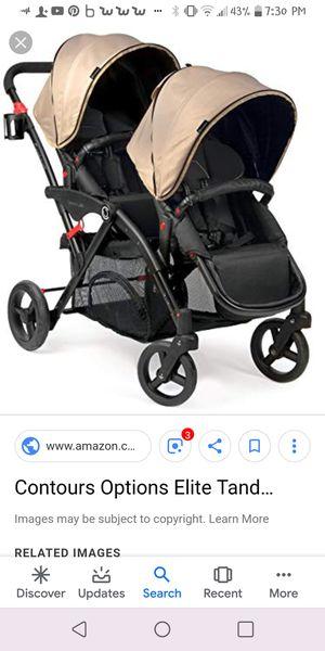 Options double stroller for Sale in Wenatchee, WA