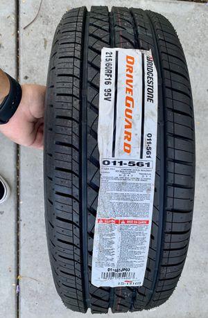 215/60R16 Bridgestone Driveguard RunFlat Tires for Sale in Carson, CA