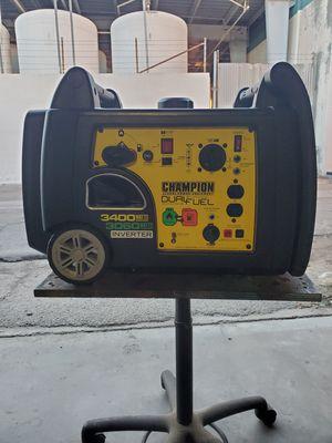 Champion Inverter Generator Dual Fuel 3400 for Sale in Paramount, CA