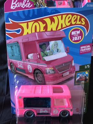 HOT WHEELS 2021 BARBIE DREAM CAMPER LOT of 10' for Sale in Beaumont, CA