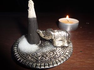 Elephant Incense Burner w/ Dragon Blood Increase Cones for Sale in Long Beach, CA