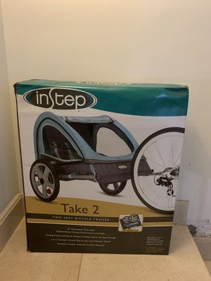 InStep Double-Seat Bike Trailer for Sale in Queens, NY