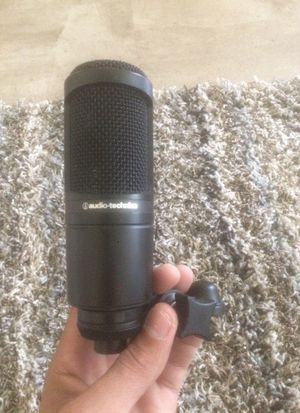 Audio Technica AT2020 Studio Recording Microphone for Sale in Columbia, SC