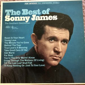 "Sonny James ""The Best of Sonny James"" Vinyl Album $5 for Sale in Ringgold, GA"