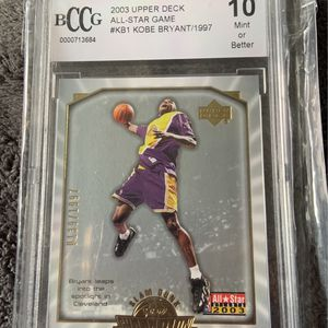 2003 Kobe Bryant ALL-Star Game 1997 Slam Dunk Champion Card Graded 10 Gem Limited Serial Numbered /1997 for Sale in Santa Ana, CA