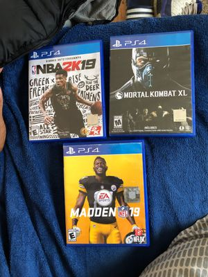 PS4 games new for Sale in Oberlin, OH