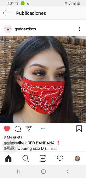 Masks for sale. Follow us on Instagram @godessvibes for Sale in Hayward, CA