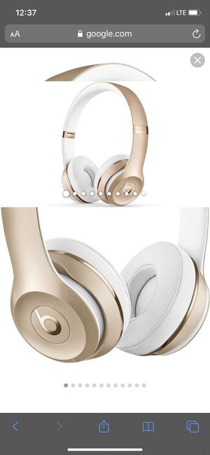 Beats wireless solo 3 gold for Sale in Orlando, FL