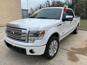 2013 FORD F-150 PLATINUM 2.790 DOWN ** for Sale in Houston, TX