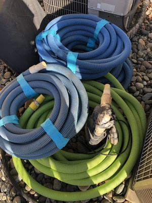Pool hoses best offer! for Sale in Sacramento, CA