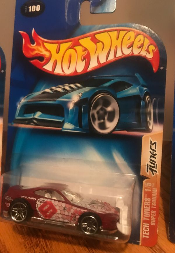 HOT WHEELS 2003 ISSUE TECH TUNERS 5/5 FORD FOCUS #104