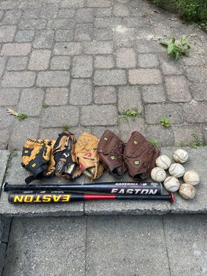 Baseball Gloves, Bats and Balls for Sale in Vernon, CT