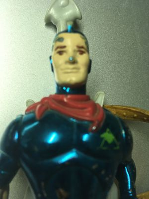 Vintage Silver Hawks Blue Grass Action Figure Toy Collection for Sale in El Paso, TX