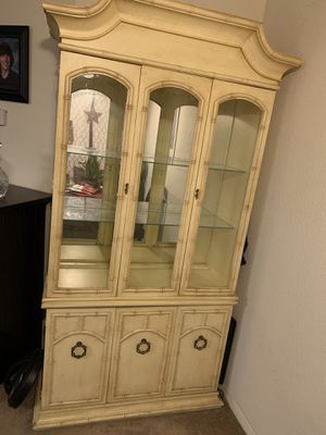 Bamboo style china cabinet for Sale in Burbank, CA