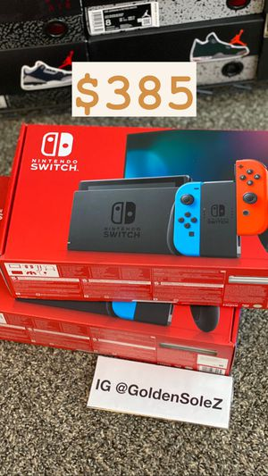 New Nintendo Switch Console $385 for Sale in Antioch, CA