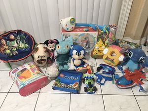 Baby & Kids $5ea Sale, Toys, Fisher-Price, Disney, Lego, Halo, Paw Patrol, Sonic, Grossery Gang, Dogs, Toy Story Chair, Skylanders- Choose for $5ea, for Sale in Carson, CA