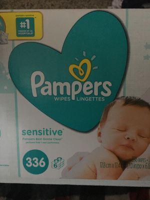 Pamper baby wipes for Sale in Tempe, AZ