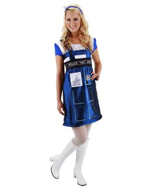Complete Dr. Who Tardis Halloween Costume- $35OBO for Sale in Avon, OH