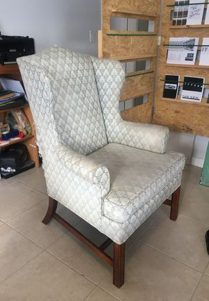 Antique Upholstered Arm Chair - damaged for Sale in Miami, FL