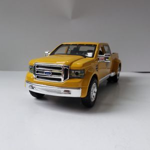 NEW Large Ford Yellow Mighty F-350 Super Duty Pickup Truck Car Toy Diecast Metal Model Scale 1/31 1:31 131 F350 for Sale in Trenton, NJ