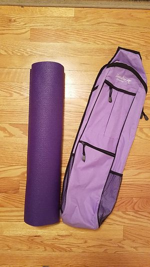 Zenzation athletic yoga carry bag with matching mat for Sale in Staunton, VA