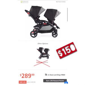 🔥 Contours Options Double Stroller 🔥 *Great Condition* for Sale in Lawrenceville, GA