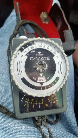 Vintage C Mate Gossen light meter for Sale in Everett, WA