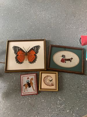 Handmade needle point various sizes your choice for Sale in Valley Center, KS