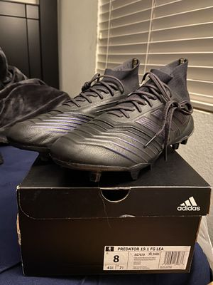 Brand New Adidas Predator 19.1 FG Leather Cleats for Sale in Moreno Valley, CA