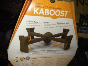 New kaboost travel booster seat for Sale in Nashville, TN