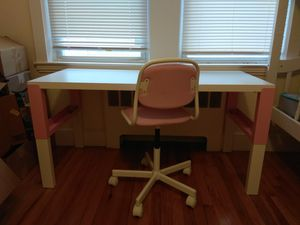 Ikea child desc and chair Pahl for Sale in Belmont, MA