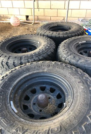 5x5 Jeep wheels for Sale in Chino, CA
