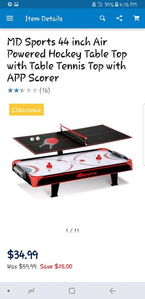 Air hockey table and tennis table for Sale in Charlotte, NC