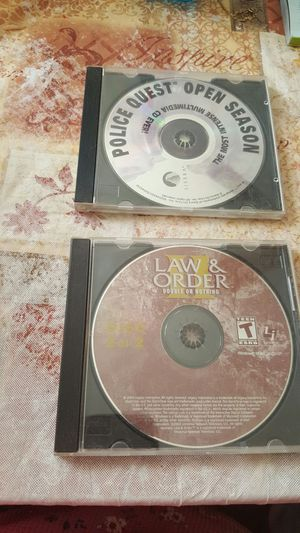 LAW & ORDER AND POLICE QUEST for Sale in Mount Gilead, OH