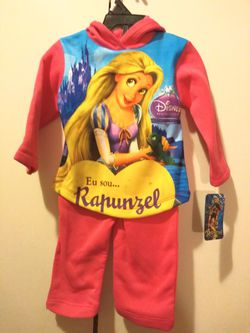 Toddler Girls Rapunzel Hooded Print Set. for Sale in Brooklyn,  NY