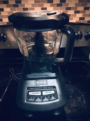 Ninja BL770 Mega Kitchen System Blender/Food Processor 1500W Auto-iQ Base - PL9 for Sale in San Diego, CA