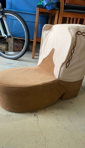 Cowboy boot chair for Sale in Orinda, CA