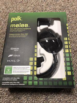 Polk Xbox 360 gaming headphones for Sale in Shelton, CT