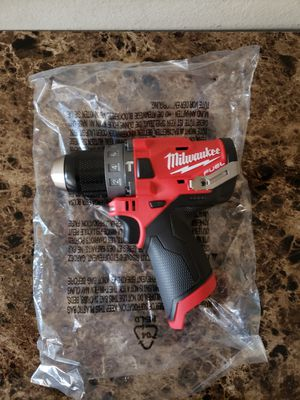 Milwaukee M12 Fuel Brushless Hammer Drill Driver for Sale in Downey, CA
