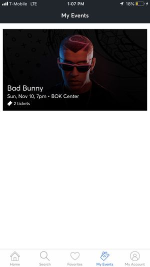 Bad bunny tickets for Sale in Oklahoma City, OK