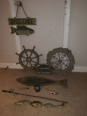 FISHING DECORATION for Sale in Greenwood, IN