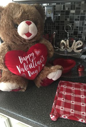Valentine's Day Teddy Bear/Stuffed Animal for Sale in Florissant, MO