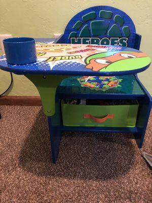 Teenage mutant ninja turtle kids desk for Sale in Mount Pleasant, PA