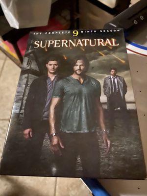 Supernatural tv show series for Sale in Turlock, CA