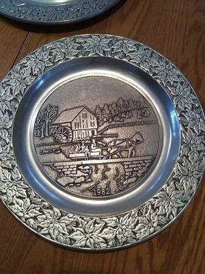 Decorative wall plates, heavy aluminum for Sale in Minocqua, WI