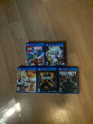 Ps4 games for Sale in Pasadena, CA